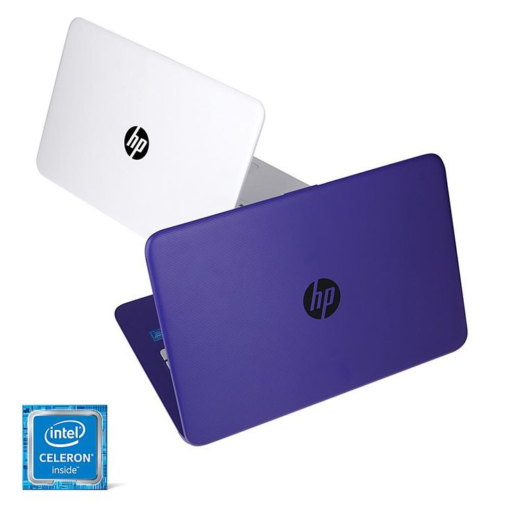 "2-pack HP Stream 14"" HD Intel 4GB RAM, 32GB eMMC Windows 10 Laptops with 1-Year of Office 365 and Software & Services"