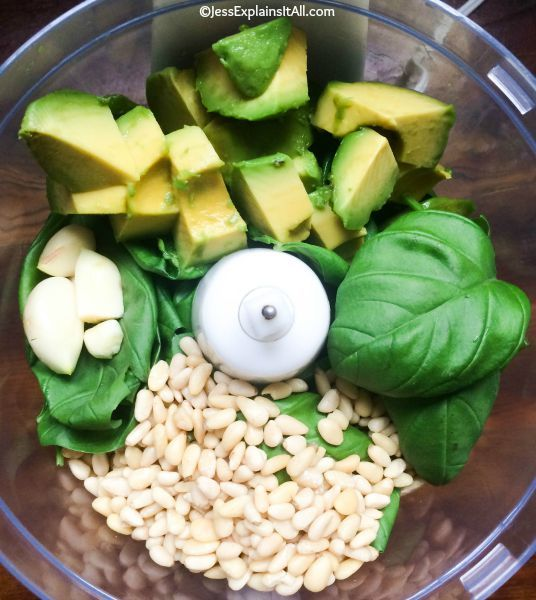 Avocado Pesto?  Yes please!  Check out my recipe for a delicious and creamy…