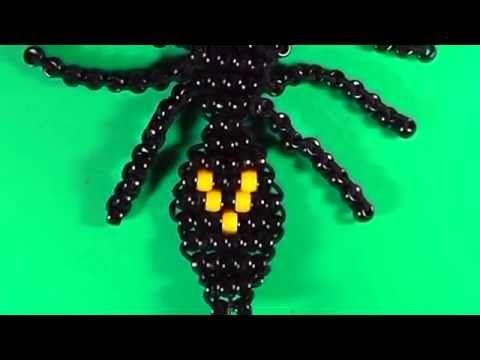 Araña de cuentas kandis ♦SUPERMANUALIDADES♦ - YouTube