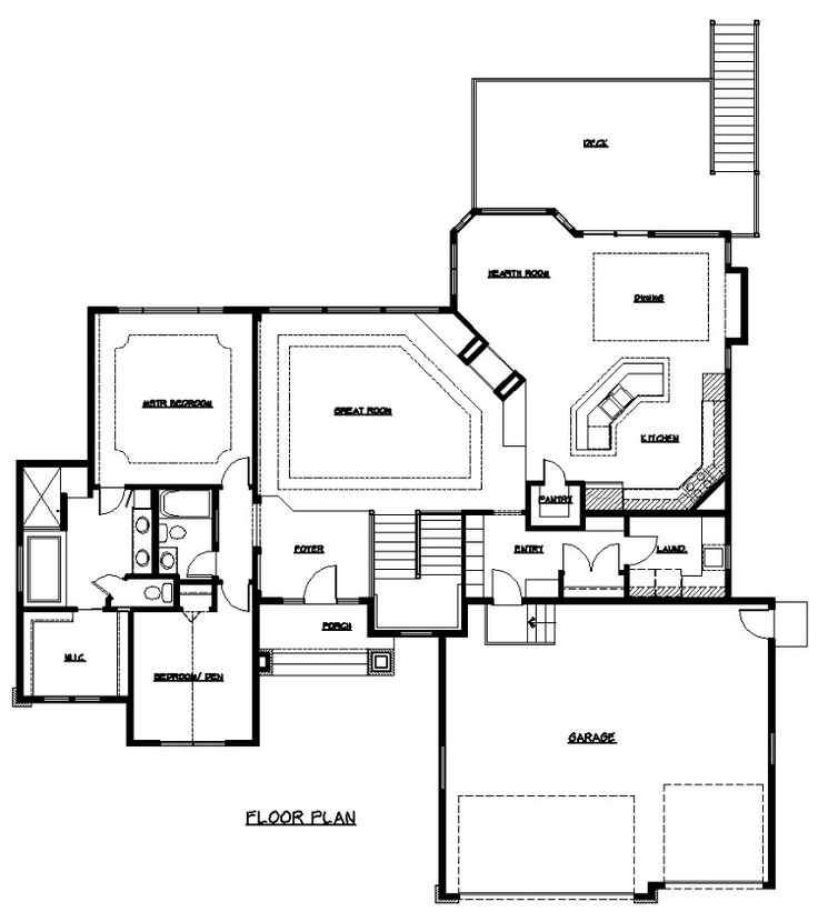Two Master Suite House Plans or Double Master Home Plans. 41 best Floor plans images on Pinterest   House floor plans  Home
