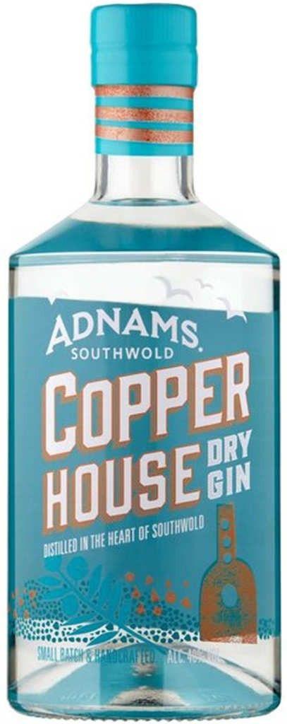 Gin von Adnams in einer 0,7 l Flasche mit 48% Vol. Alc.