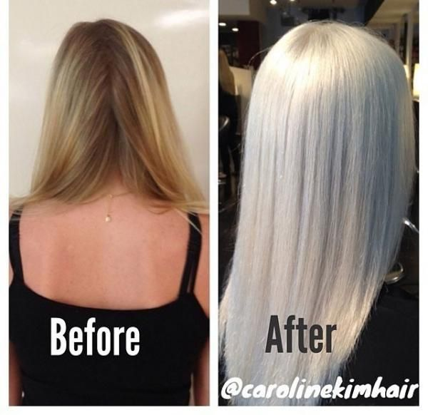 Get the formula for this freezing cold icy shade by Wella artist Caroline Kim.