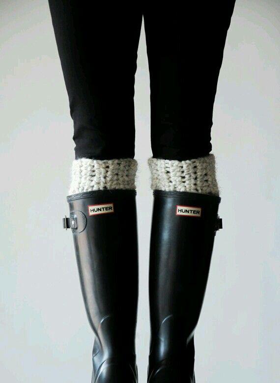 Pattern / Ozetta Knit Boot Warmers Leg Warmers Boot Cuffs Pattern For The…