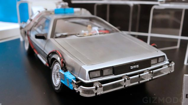 Only Time Travel Can Make this Perfect BTTF DeLorean Arrive Any Sooner