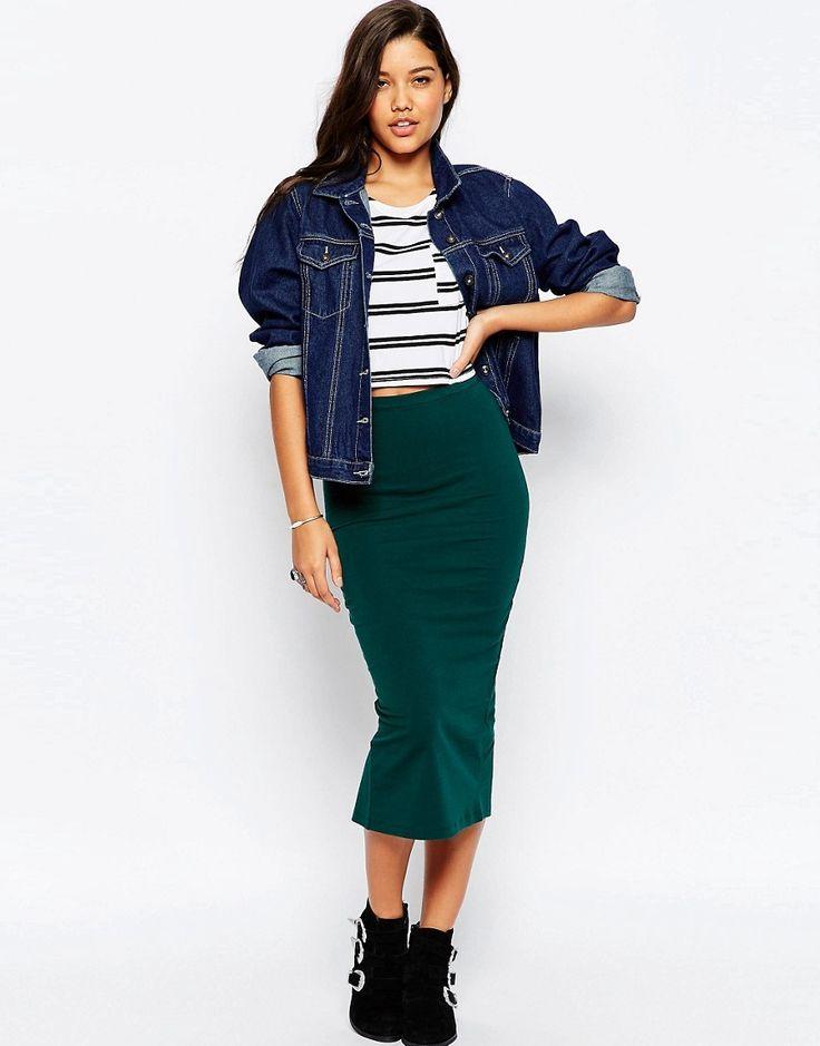 25  best ideas about Midi pencil skirts on Pinterest | Green smart ...