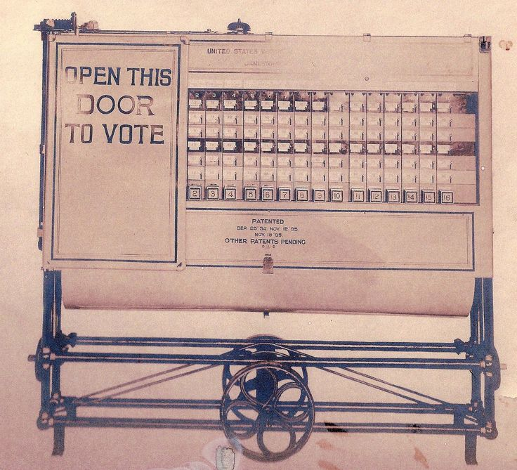 how to use a voting machine in ny