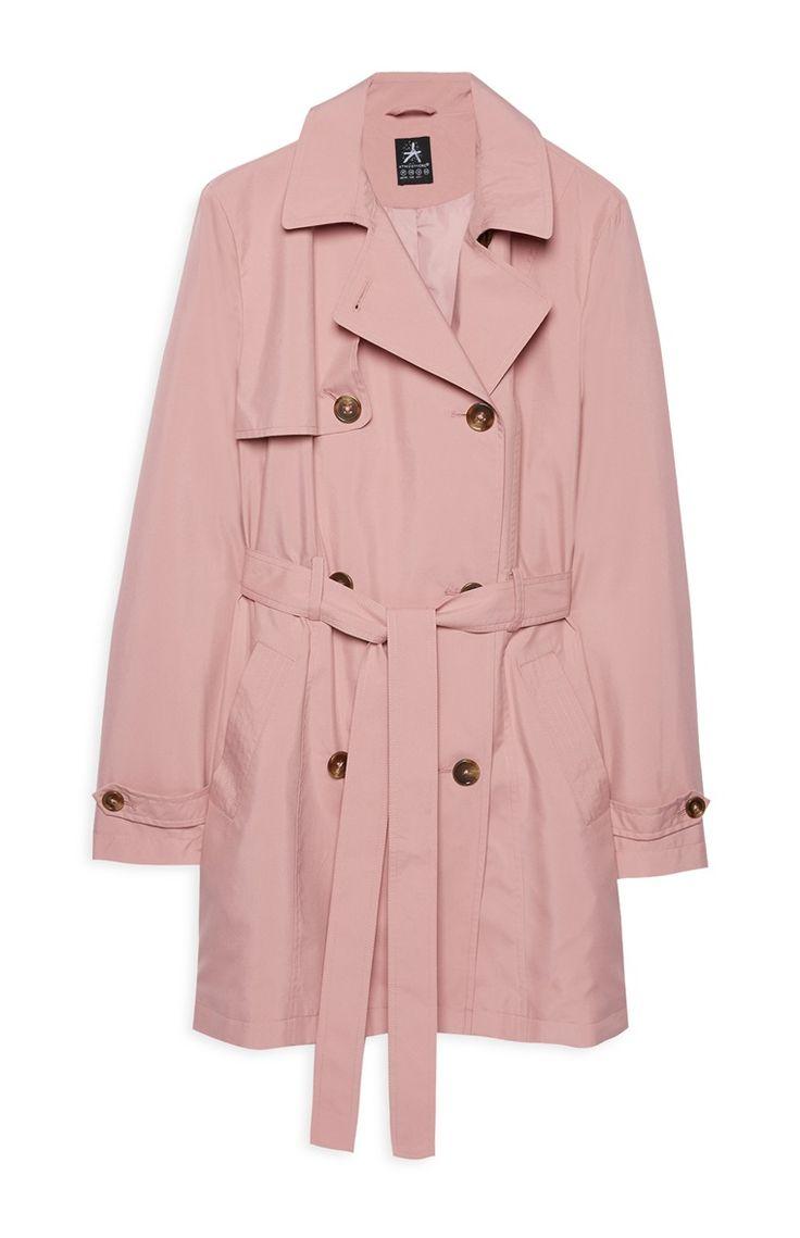 Pink coat from Primark