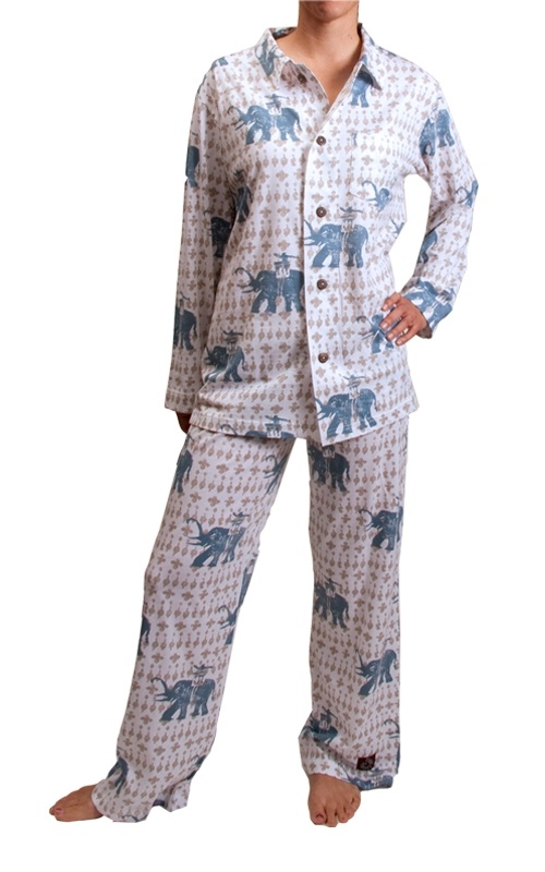 Elephant pajamas cute and comfy pj 39 s pinterest pajamas elephants and ps - Pyjama elephant ...