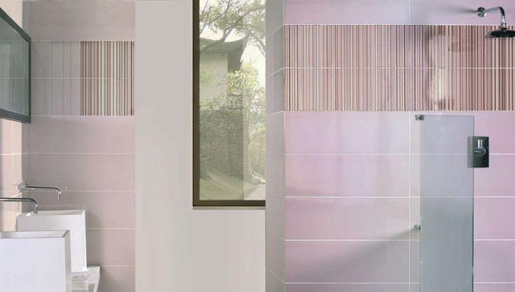 Dise o de espacios para la decoraci n de cuartos de ba o for Habitaciones con azulejos