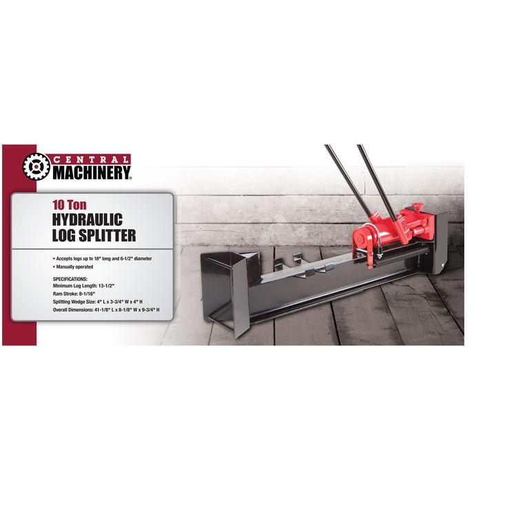 10 Ton Hydraulic Log Splitter