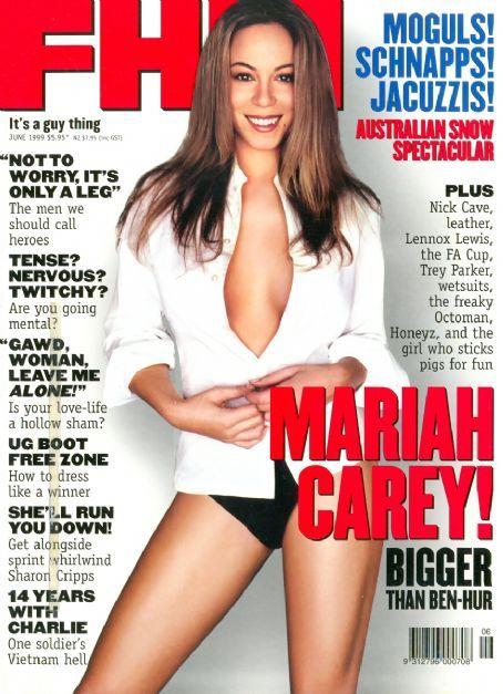 Mariah Carey - FHM Magazine [United States] (June 1999)