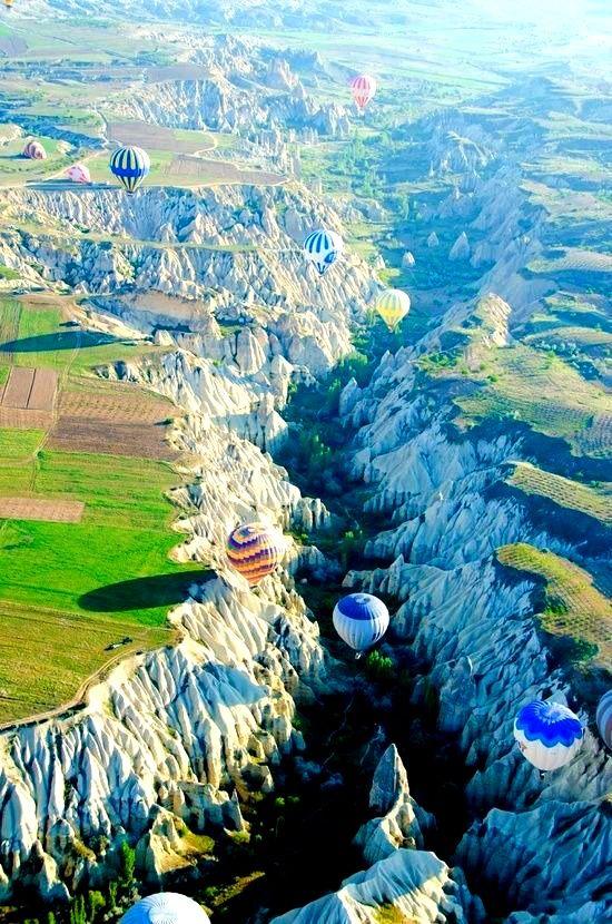 Faire un tour en montgolfière I #Turquie I