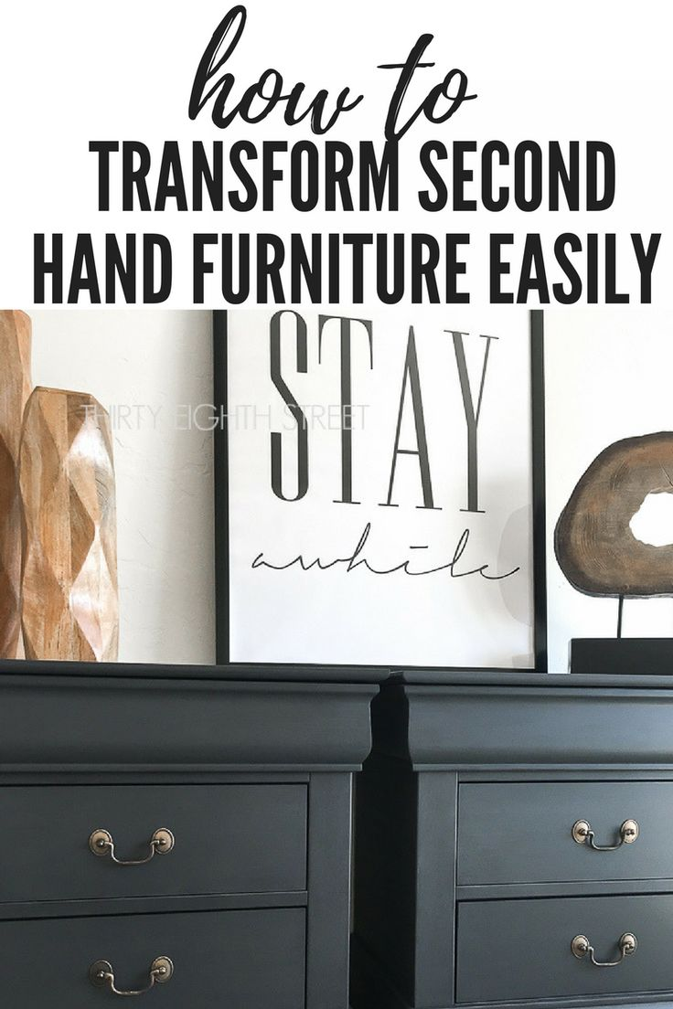 25 Best Ideas About Second Hand Furniture On Pinterest