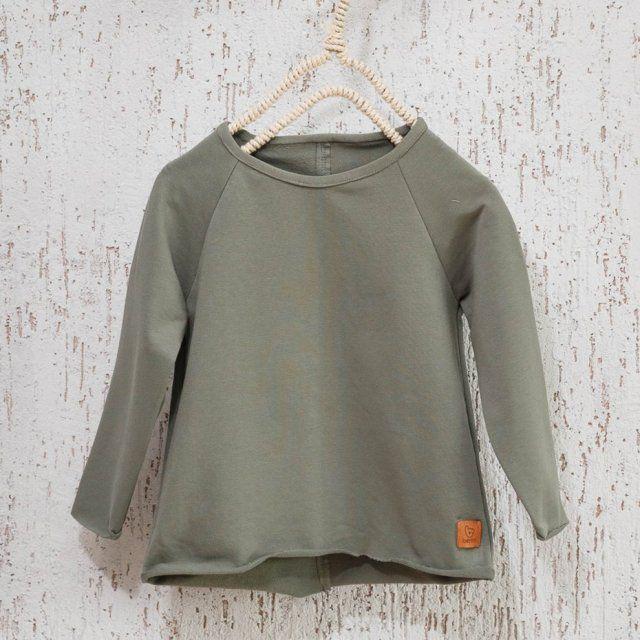 Bluza basic - khaki