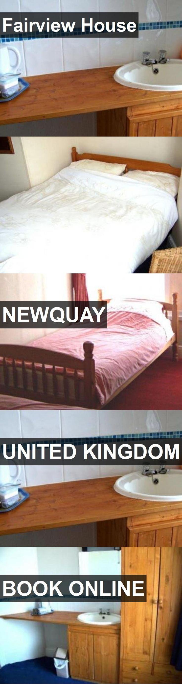 Hotel Fairview House in Newquay, United Kingdom. For more information, photos, reviews and best prices please follow the link. #UnitedKingdom #Newquay #travel #vacation #hotel