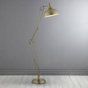 Antique Brass Floor Lamp