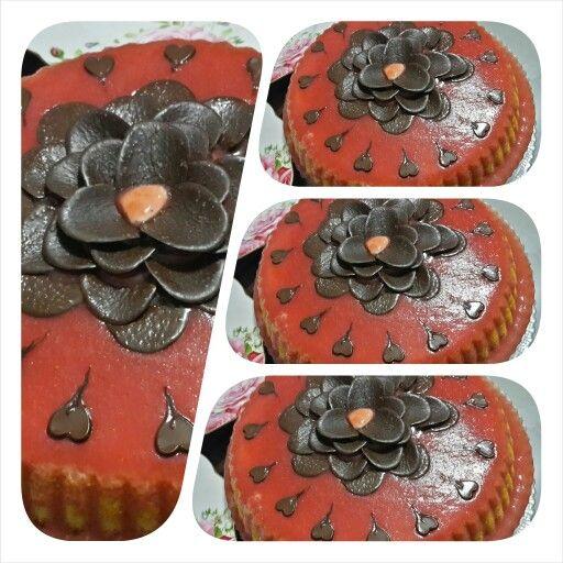 cilekli prenses kek