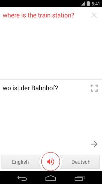 Google acaba de actualizar la aplicación Traductor de Google para ... Any one like this? Let me know!