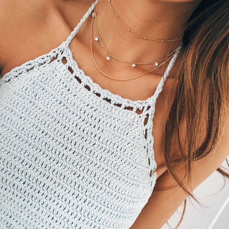 Diamond Drop Choker Necklace