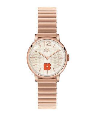 Frankie rose gold-tone bracelet watch Sale - Orla Kiely Sale
