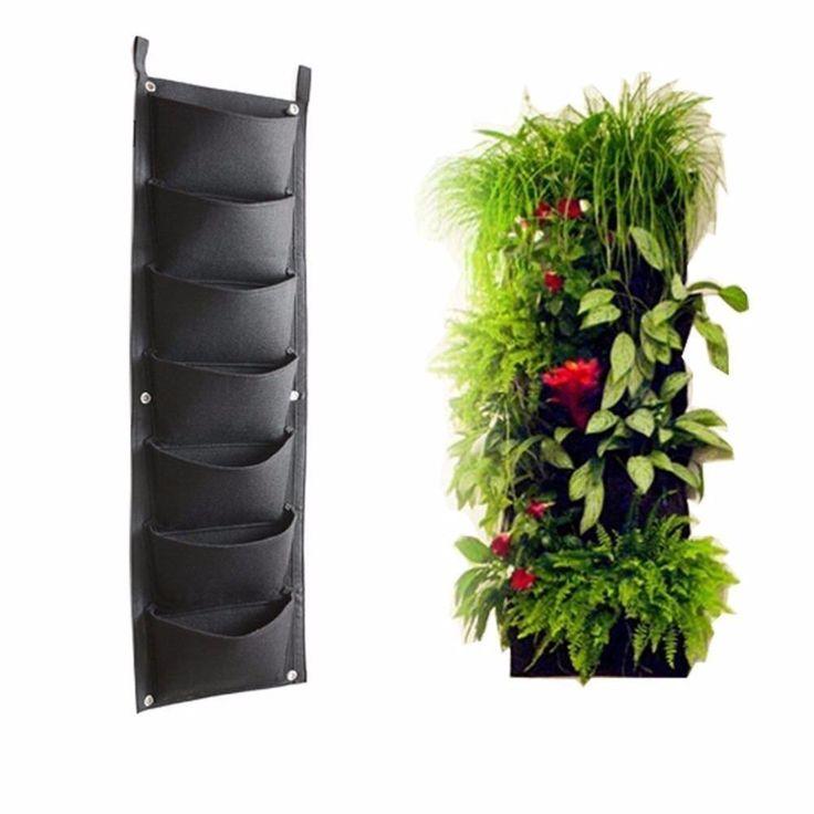 Best 25 indoor vertical gardens ideas on pinterest wall for Pockets jardin vertical