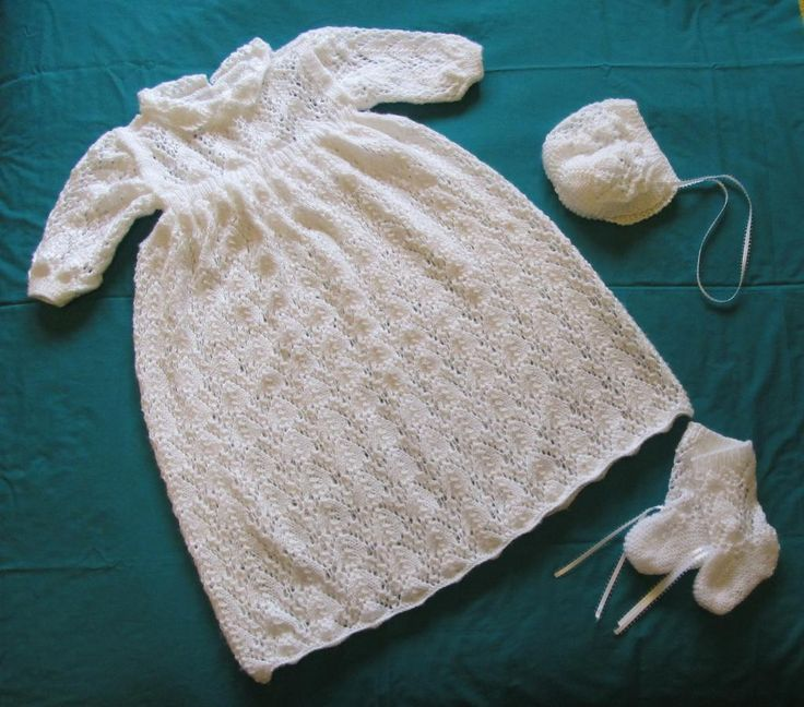 Hush A Bye Baby Christening Gown_e_0thN - via @Craftsy