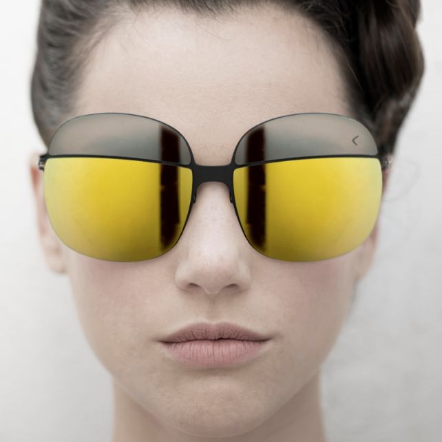 Look at the future, it's amazing. Sunglasses Blackfin BF715 MAGNETIC, designed by Corrado Rosson