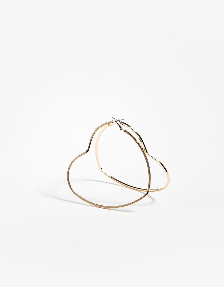 Boucles d'oreille en forme de cœur