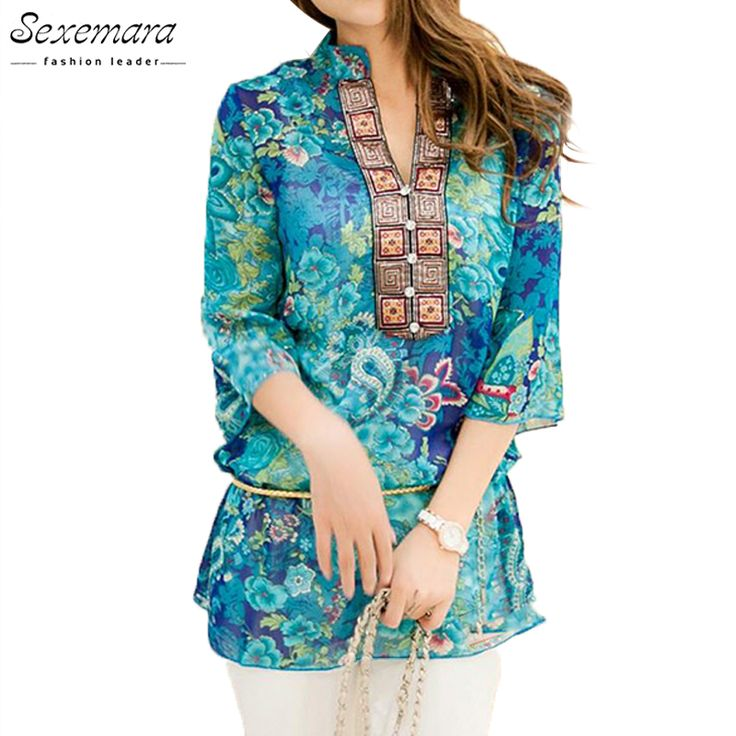 2017 Summer Women Shirt Blouse Style Fashion Chiffon Half Sleeve Plus size 5XL Floral Casual Top Embroidery Woman Tunic Blouses     Tag a friend who would love this!     FREE Shipping Worldwide     Get it here ---> http://www.pujafashion.com/product/2017-summer-women-shirt-blouse-style-fashion-chiffon-half-sleeve-plus-size-5xl-floral-casual-top-embroidery-woman-tunic-blouses/
