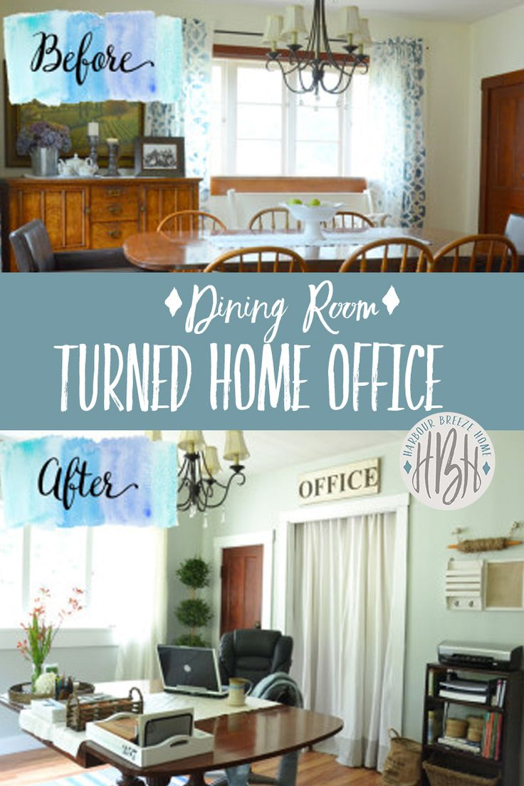 Dining Room Turned Home Office Is Your Formal Sitting Empty And Un