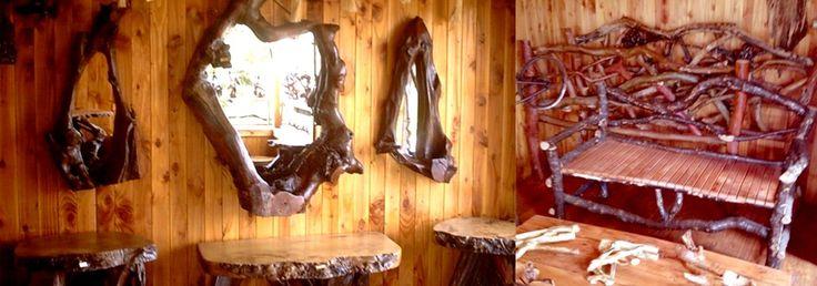 muebles rusticos pucon chile - Buscar con Google