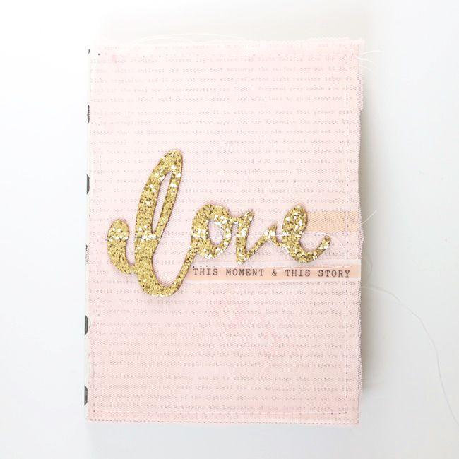 stephanie makes: Crate Paper: Love This Moment Mini Album