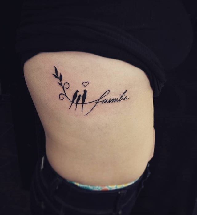 #tattoo #familia #birds tatuaje realizado en Giron, whatsapp 317 248 4228