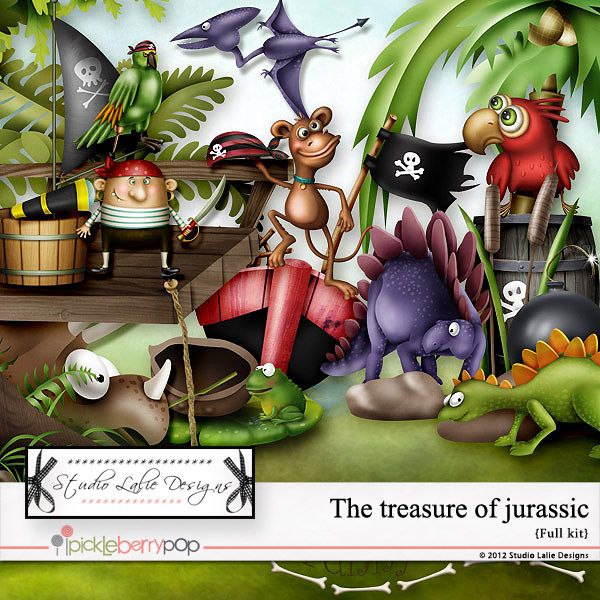 The Treasures of Jurassic    https://www.pickleberrypop.com/shop/product.php?productid=25645=0=1