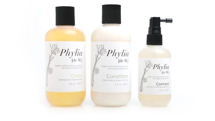 Phyla Shampoo and Conditioner - AHAlife. I love the packaging design on these