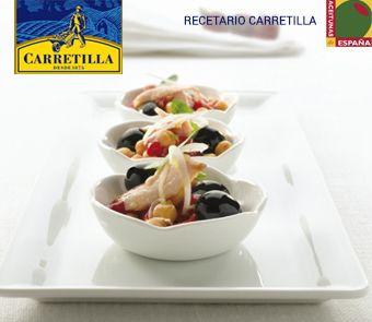30 best recetas images on pinterest dish dishes and olives ensalada de garbanzos con pimientos bonito y aceitunas recipe ideasrecipe forumfinder Images
