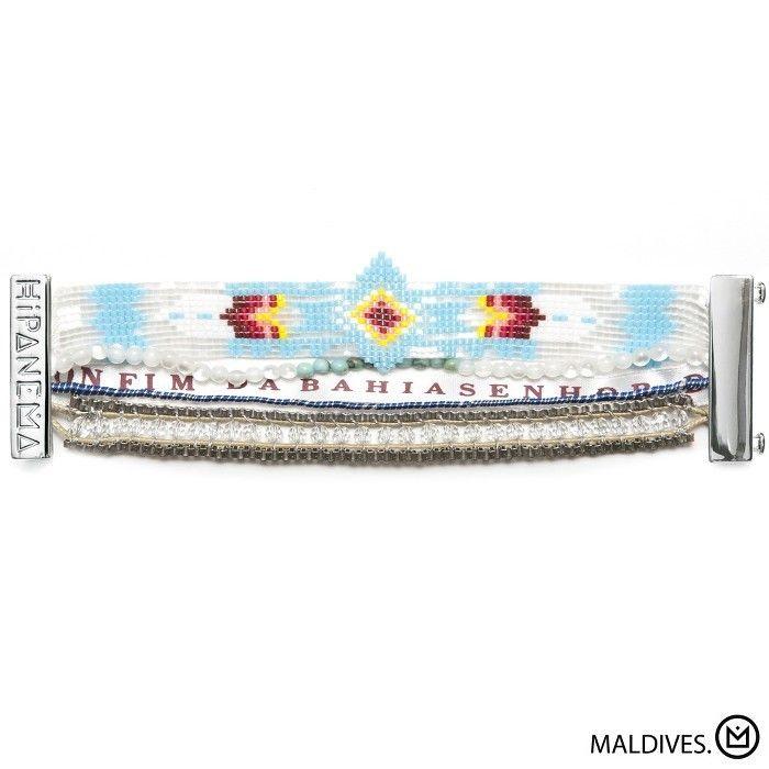 Bracelet Maldives Hipanema collection été 2015 - à retrouver sur www.lilishopping.com/fr/ - #hipanema #bracelet #manchette #cuff #summer #holiday