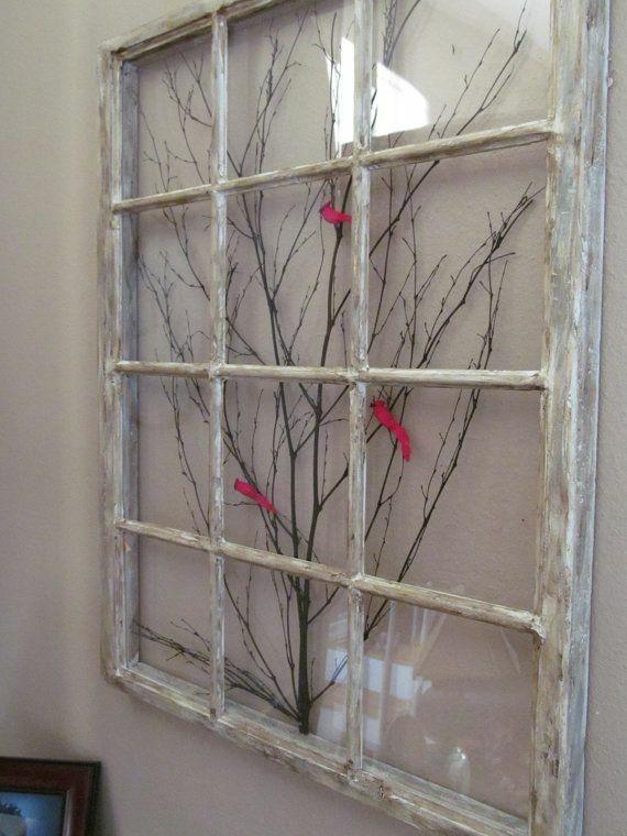 Old Window Ideas Frame Art Frames