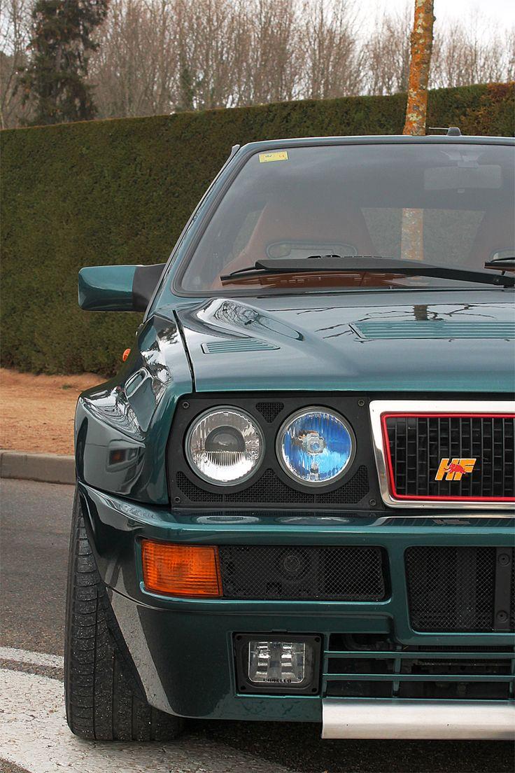 Lancia Delta HF Integrale: particolari.
