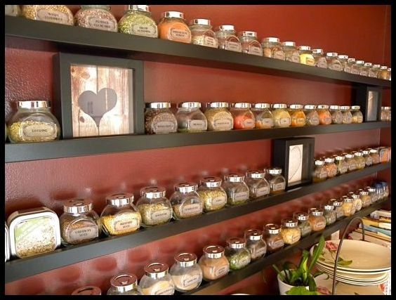 find this pin and more on home spice storage - Spice Storage