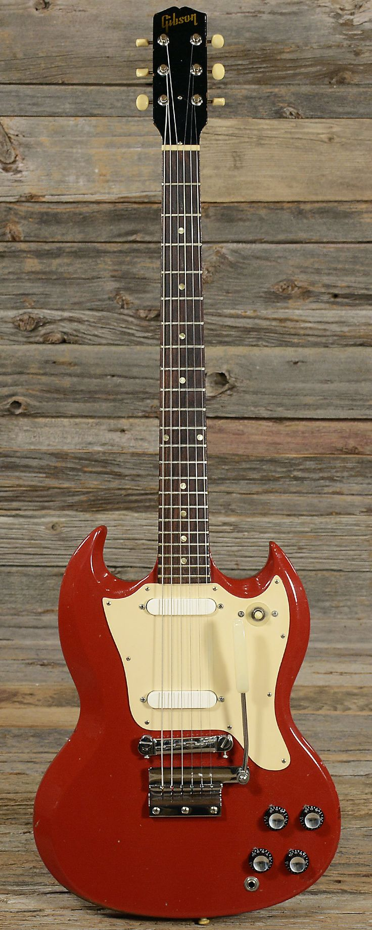Gibson Melody Maker Fire Engine Red 1966