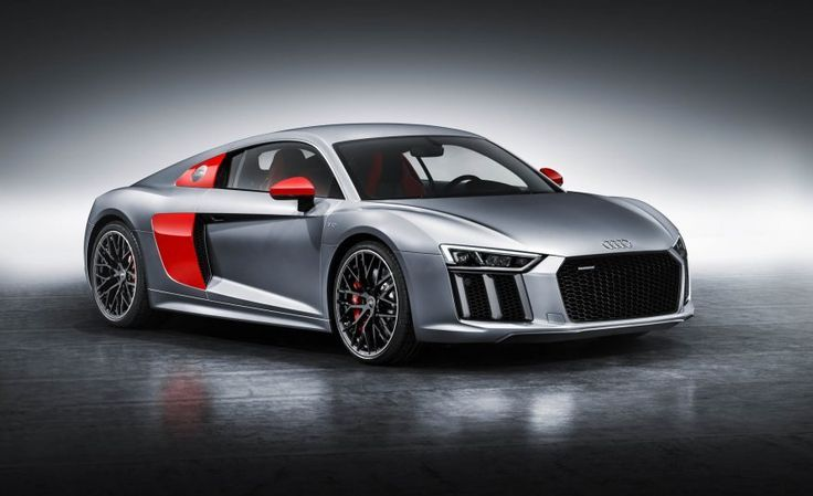Awesome Audi 2017: Audi R8 Audi Sport Edition Gives You the Red Side Blades You Never Asked For...  A A A Check more at http://carsboard.pro/2017/2017/04/26/audi-2017-audi-r8-audi-sport-edition-gives-you-the-red-side-blades-you-never-asked-for-a-a-a-2/