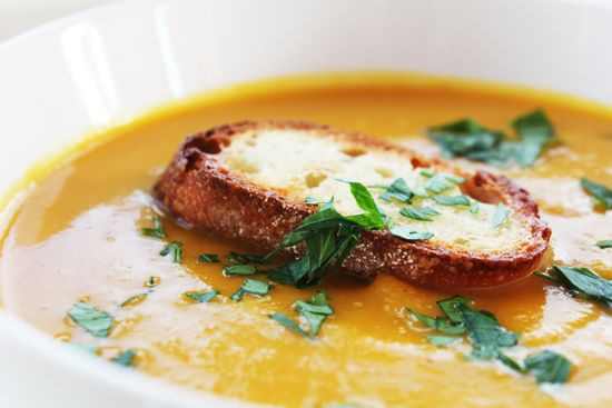 Winter Squash Soup Recipe Ina Garten Thanksgiving And