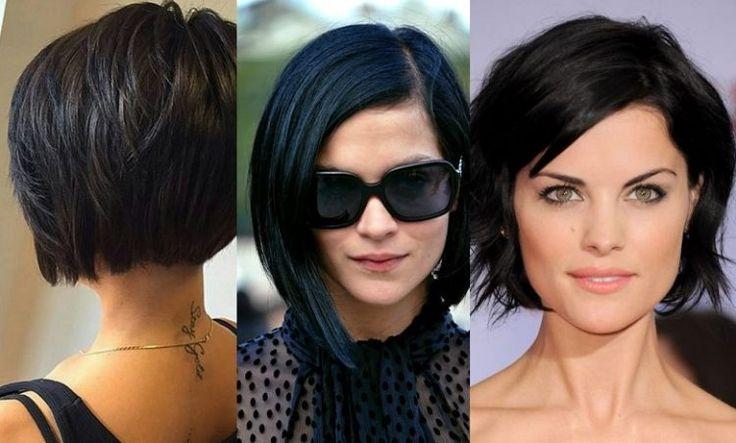 Dass der BOB eine zeitlose und starke Frisur ist, wissen wir alle. Aber in Kombination mit schwarzen oder sehr dunklen Haaren sieht die Frisur umwerfend aus. Öfters haben Frauen mit einem hellen Teint Angst ihre Haare schwarz zu tönen. Falsch! Manchmal wird die Auswirkung sogar verstärkt …, 11 tolle Beispiele!