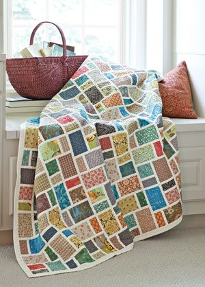 I love this quilt...wish I had bought kit at Quilt Festival in Cinci
