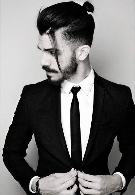 shirt hair styles image result for medium length hair in a suit plaid 1672