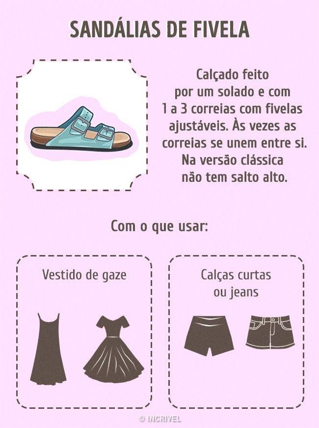 Guia do calçado feminino