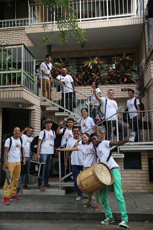 Llegada al Hotel Casa Santa Mónica - Grupo La Jagua