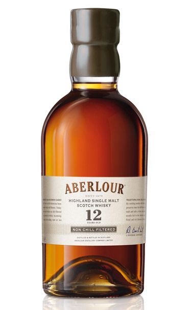 Sweets for the sweet: Aberlour has always made a subtle, almost delicate malt, although with a goodly hit of sherry-barrel oak to keep it from floating away. The non-chill filtered version foregoes the fine filtering that prevents whisky from clouding up when you add ice. It also sucks out just a little bit of the flavor. Without it, the Aberlour is perceptibly richer. Aberlour 12-year-old Non-Chill Filtered single-malt Scotch whisky ($63).