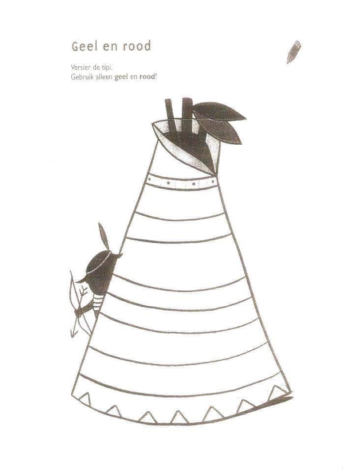 Werkblad: tipi versieren * 1500 free paper dolls at international artist Arielle Gabriels The International Paper Doll Society also free Chinese paper dolls The China Adventures of Arielle Gabriel *